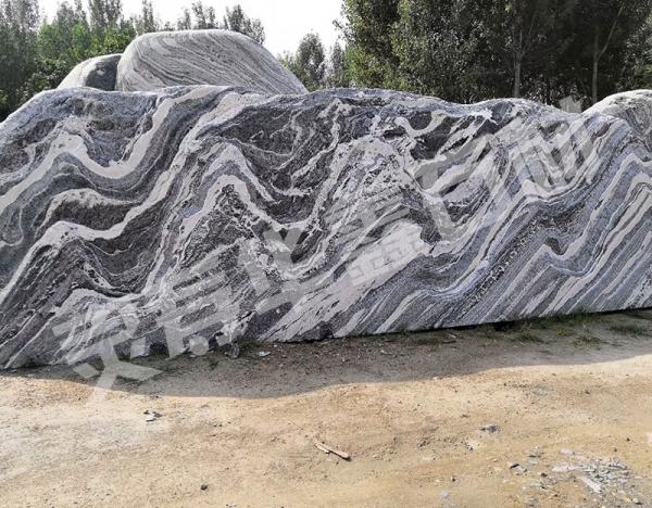 幻彩麻风景石